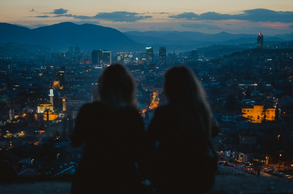 7 best panoramic viewpoints in Sarajevo to watch the sunset