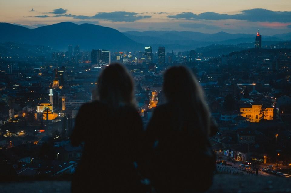 Punkty widokowe w Sarajewie i zachody słońca, które zwalą Cię z nóg