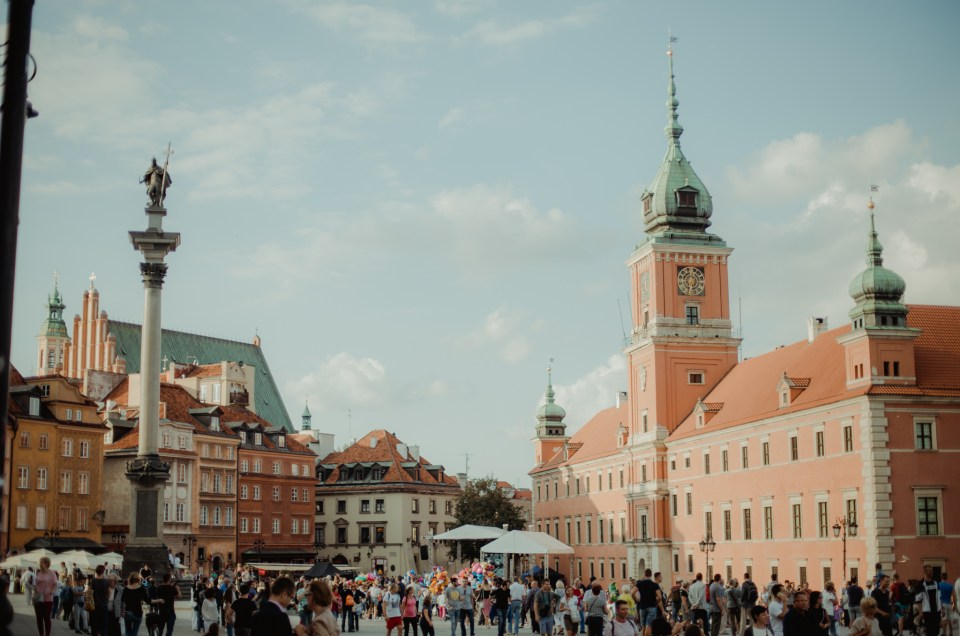 Cool things to do in Warsaw in the summer - the capital of Poland