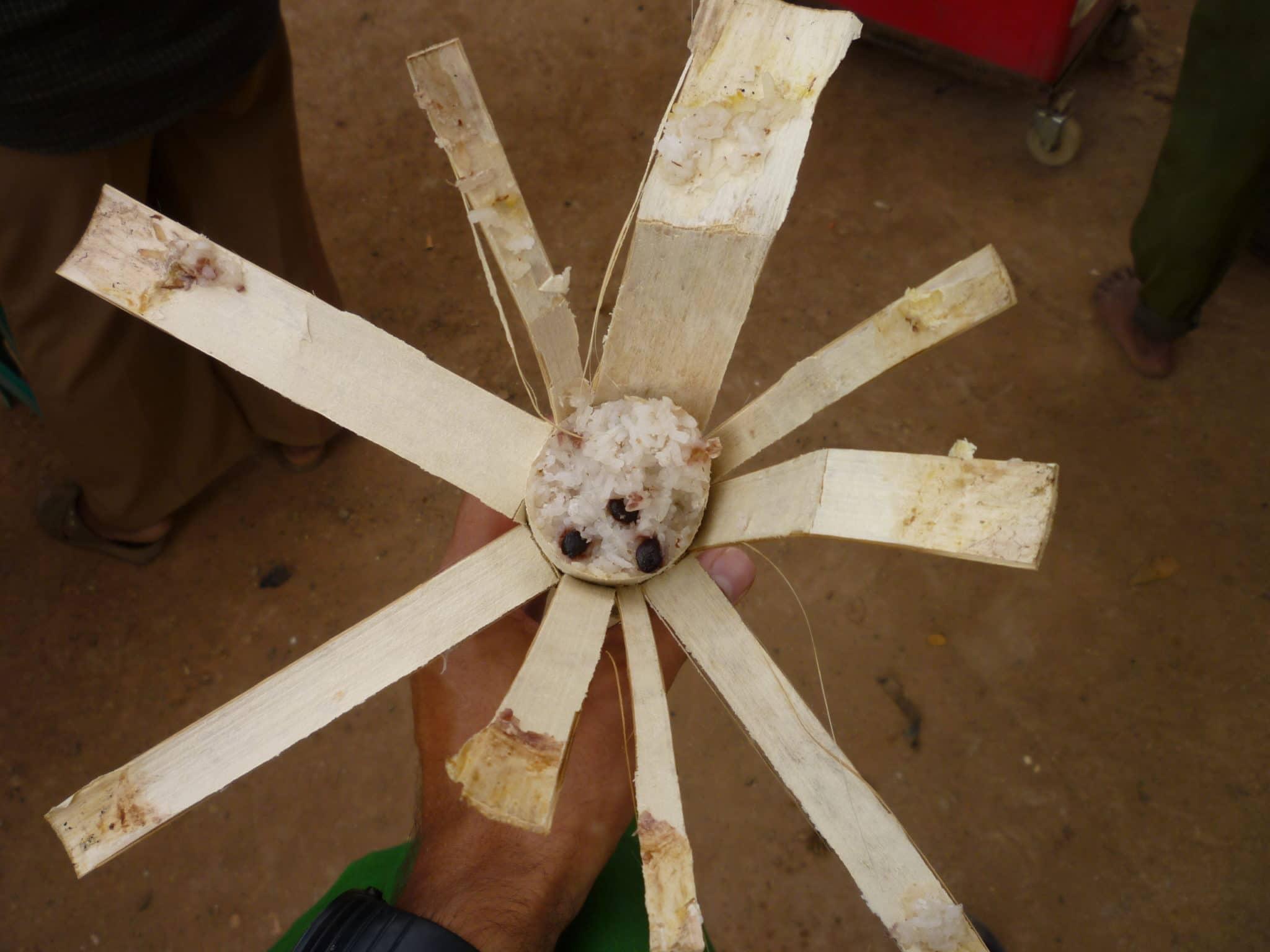 Bamboo Sticky Rice