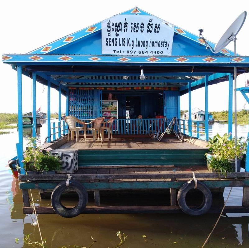 Floating Village Homestay in Kompong Luong