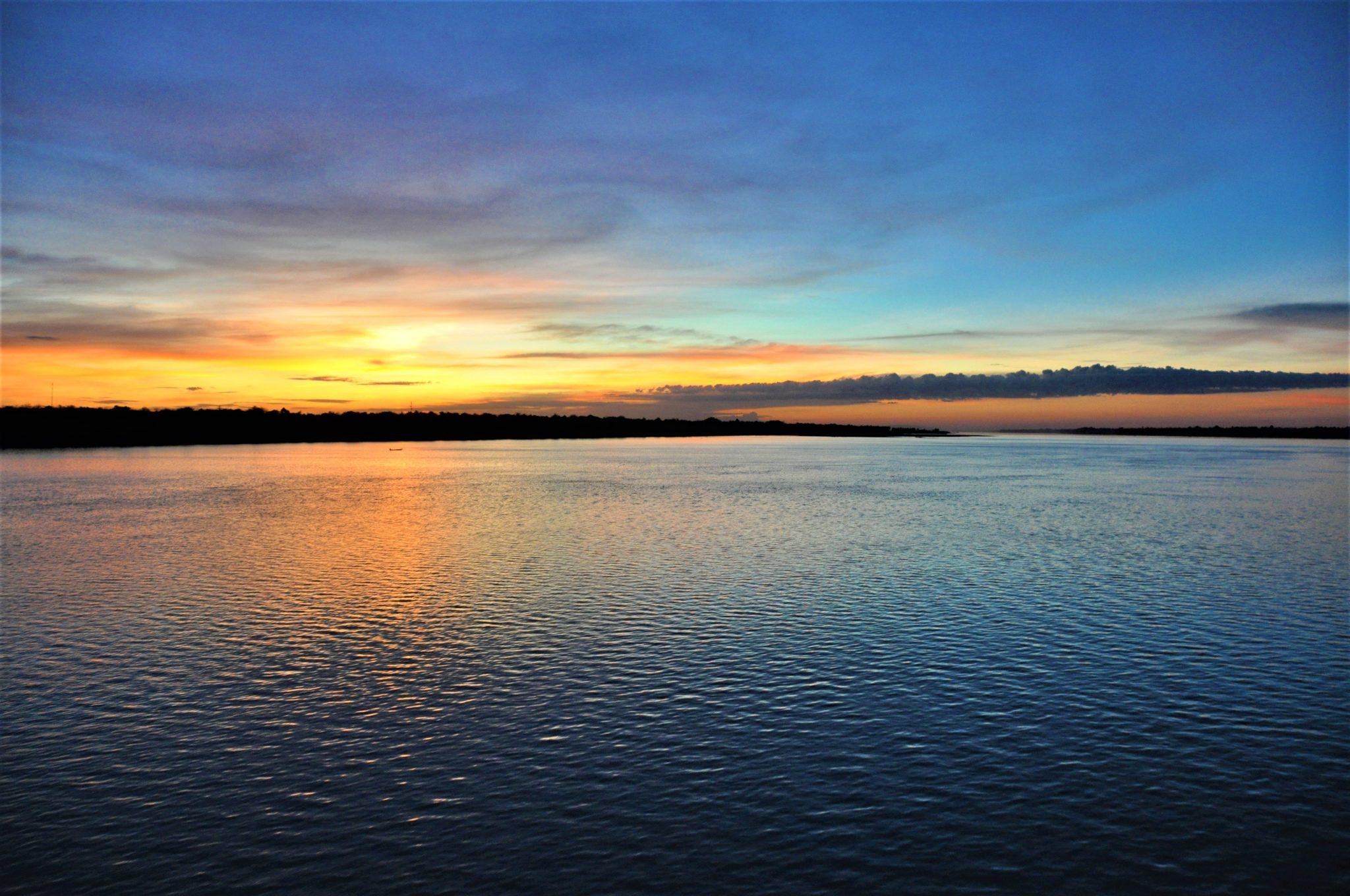 Tonle Sap Sunset
