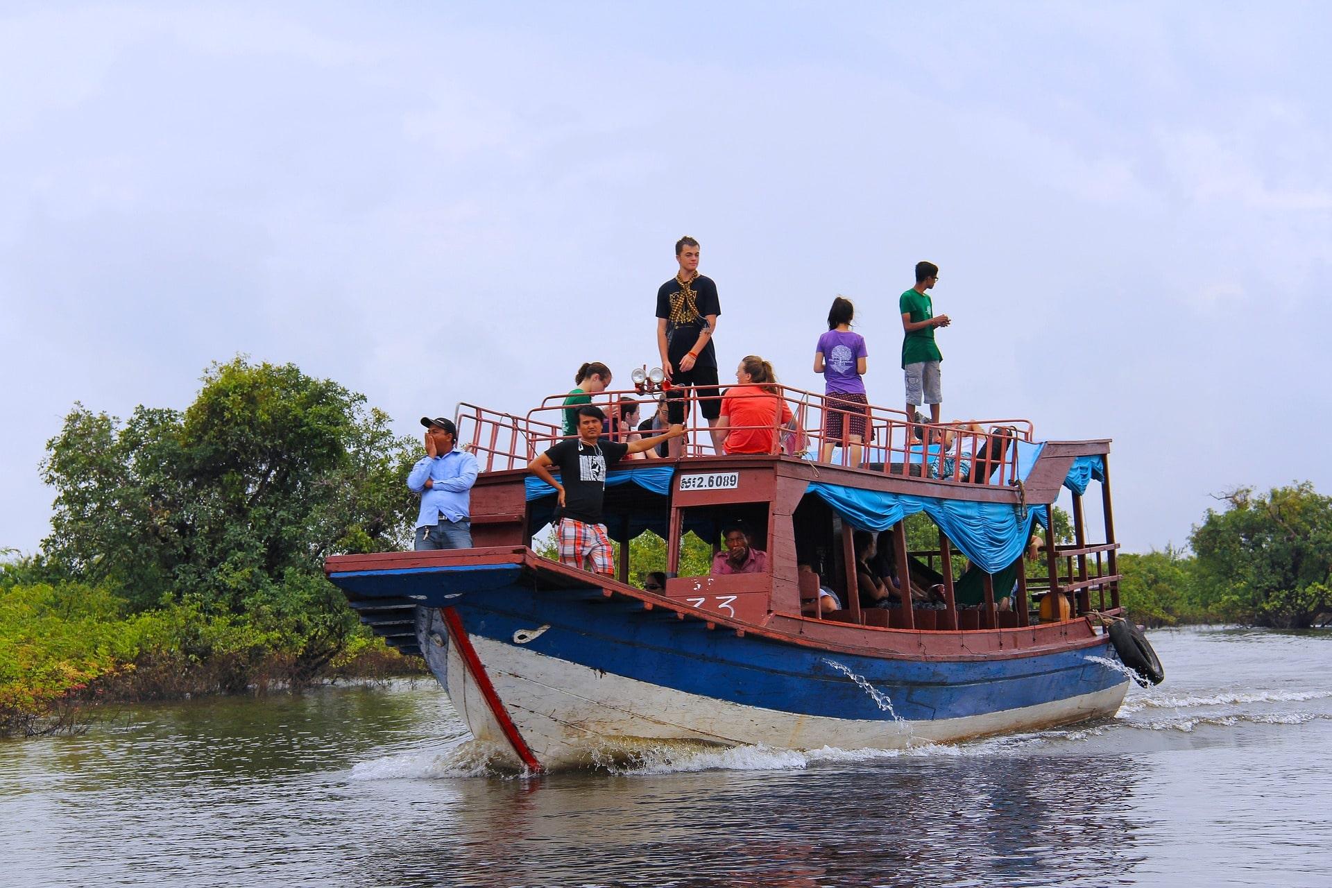 Kompong Phluk Community Tourism Boat
