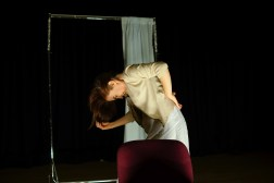 "Andrea Scott as Hannah in Gill McCaw's production of ""Lunatic There I Go"""