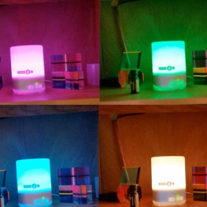 AromaTherapy Diffuser on Color Wheel