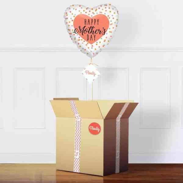 Herzluftballon Muttertag im Paket