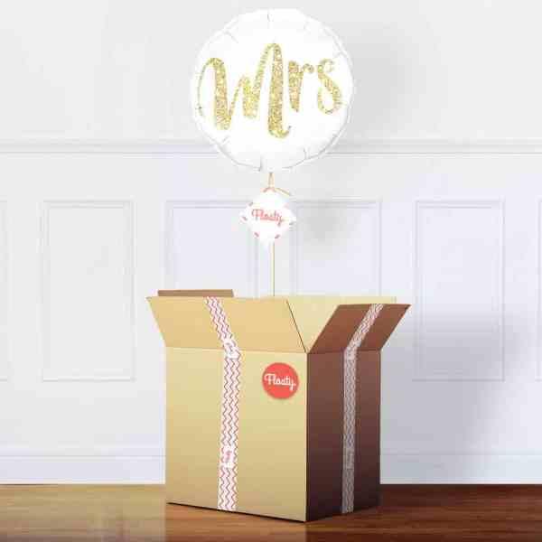 Luftballon Braut im Paket