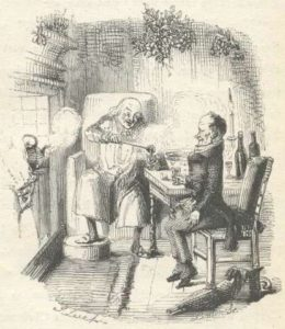 Scrooge and Bob Cratchit