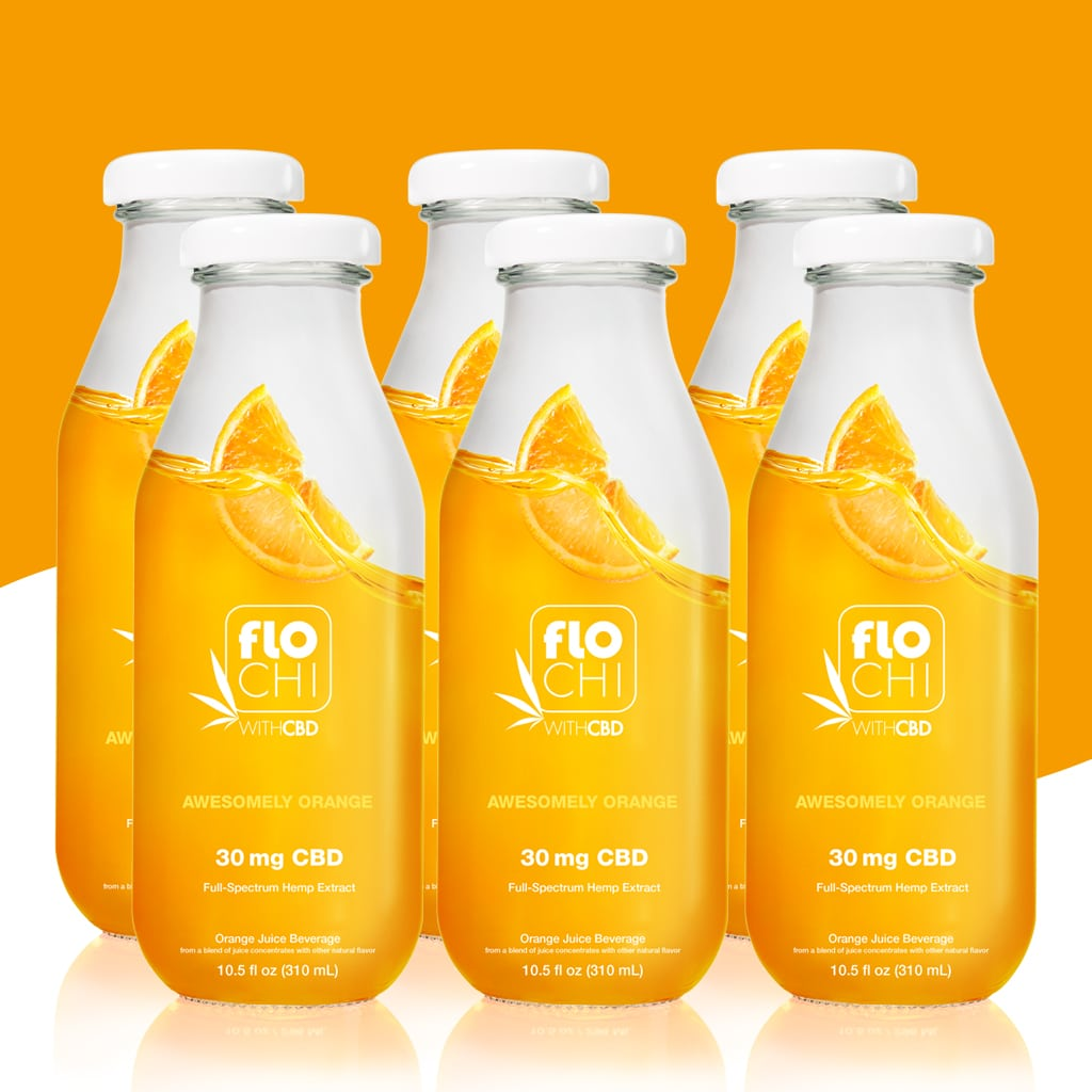 FloChi CBD Juice CBD Orange Flavored Juice 6-Pack