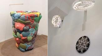 Obras de arte no refeitório (Fonte: http://www.finedininglovers.it/blog/news-tendenze/refettorio-ambrosiano-mensa-massimo-bottura/)