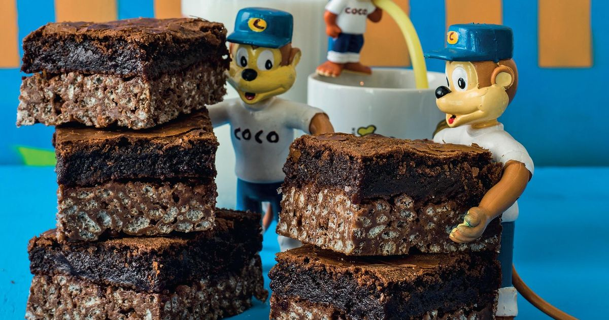 Coco Top Brownie The Happy Foodie