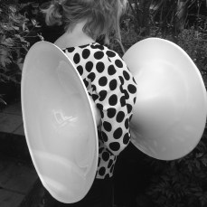 Slide in the making for flockOmania by jewellery artist Zoe Robertson