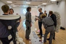 flockOmania Image by Christian Kipp - Zoe Robertson, Amy Voris and Natalie Garrett Brown