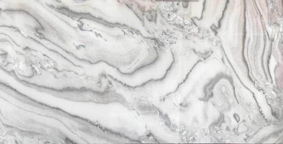 Bruno White Marble