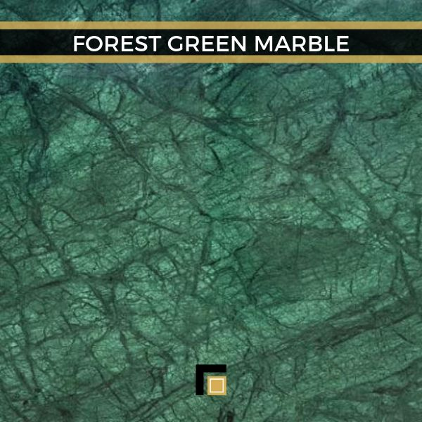 Forest Green Marble Verde India