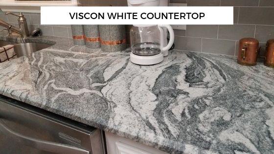 viscon white granite countertop