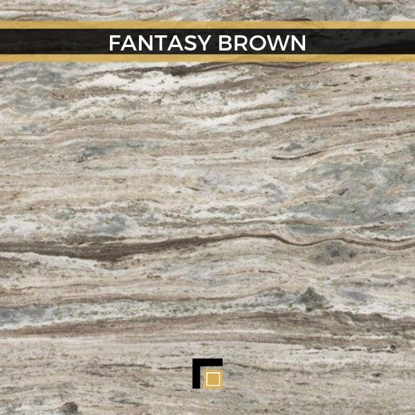 fantasy brown granite marble