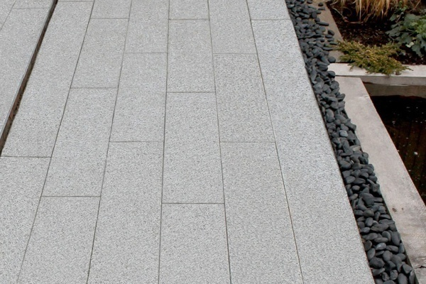 Platinum White Granite Paver
