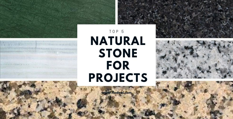 natural stones for project