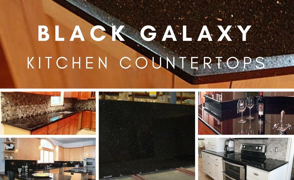 Black Galaxy Granite Countertops