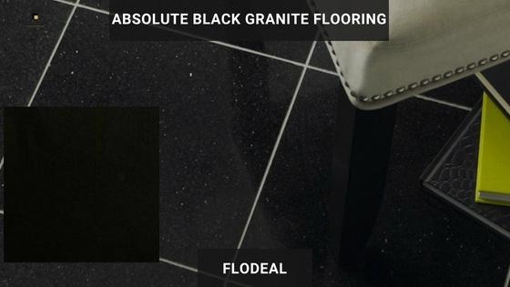 Absolute Black Granite Tile Flooring