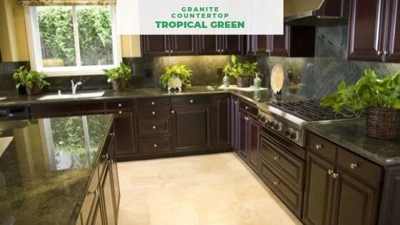 Green Granite Countertops Best 9 For Your Kitchen And Bathroom
