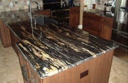 Titanium Black Granite Kitchen Tops