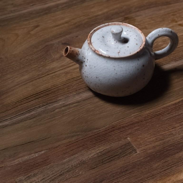 Inge Nielsen shino tekanna - tebutik floder och berg / kinesiskt te