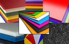 Materials sample for thermoforming.
