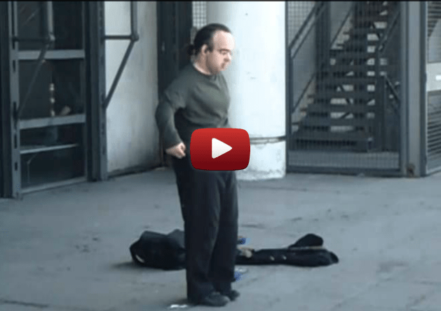 No one appreciates the genius of this talentless street performer