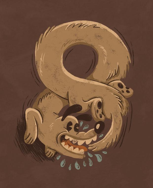 紐西蘭插畫家 David Creighton-Pester 的幽默趣味創作