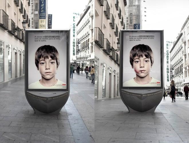 受虐兒童專線創意廣告