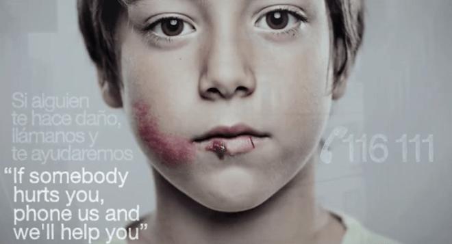 兒童受虐專線創意廣告