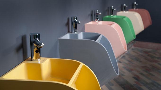 結合小便斗與洗手台的聰明設計 節能省水省時省空間