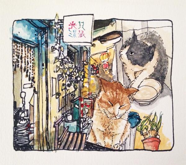 插畫家訪問:陳依辰的微微創作生活