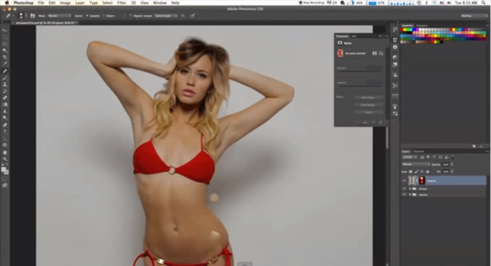 Photoshopped-Timelapse-Pizza-to-Model-2