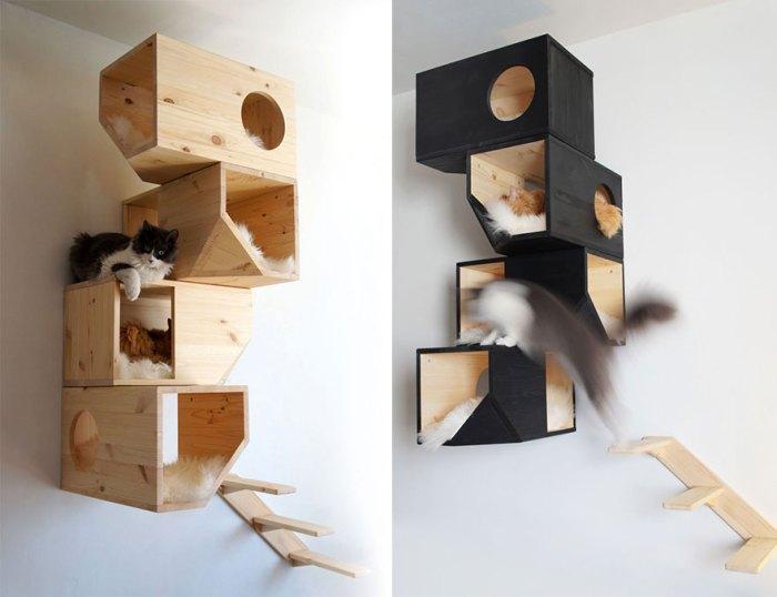 設計感的貓箱