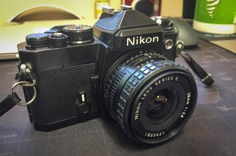 The Nikon FE joins the family