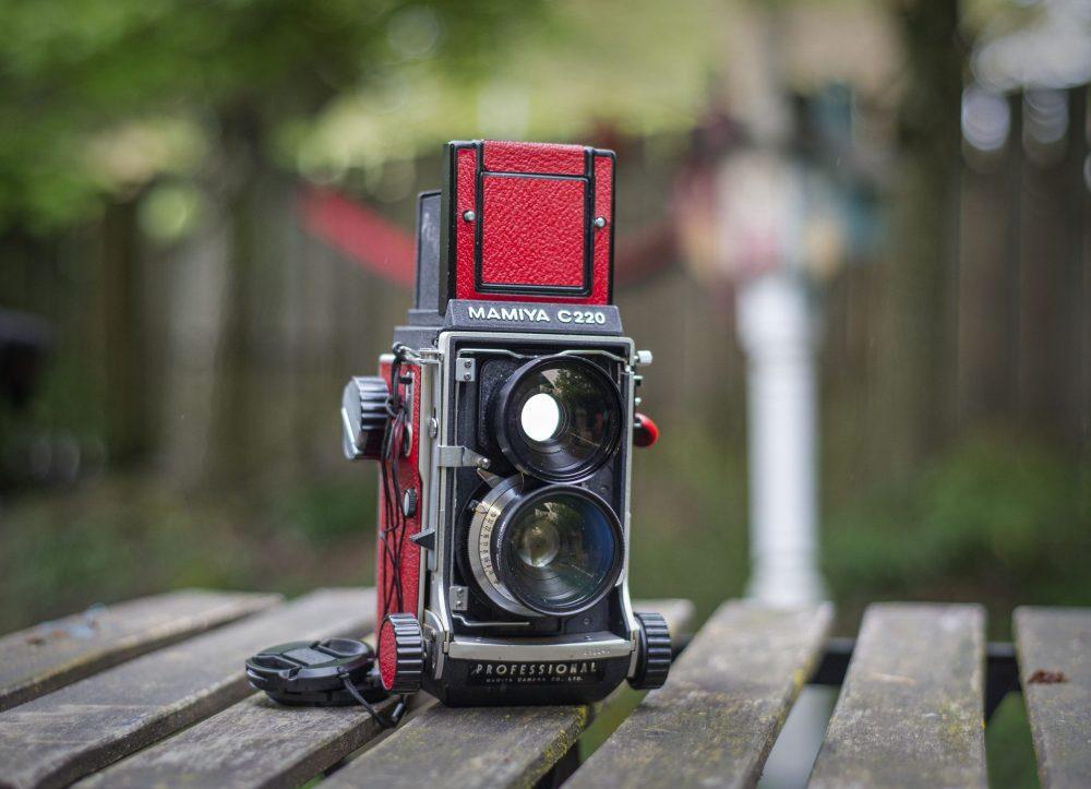 Mamiya C220 medium format film camera
