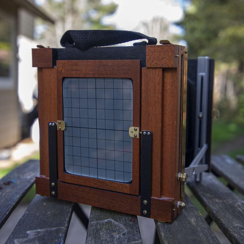 Finney Field Camera back - portrait