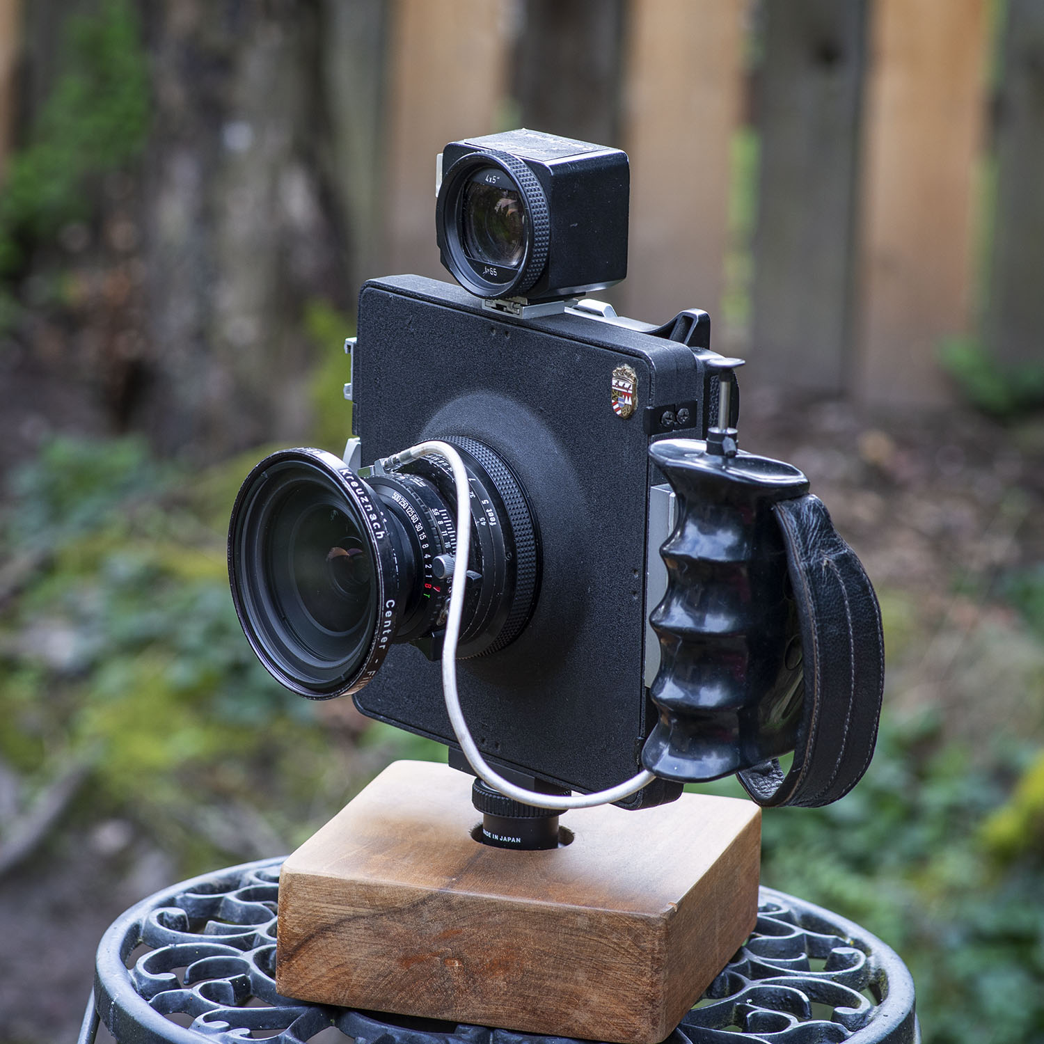 Linhof Technar large format camera