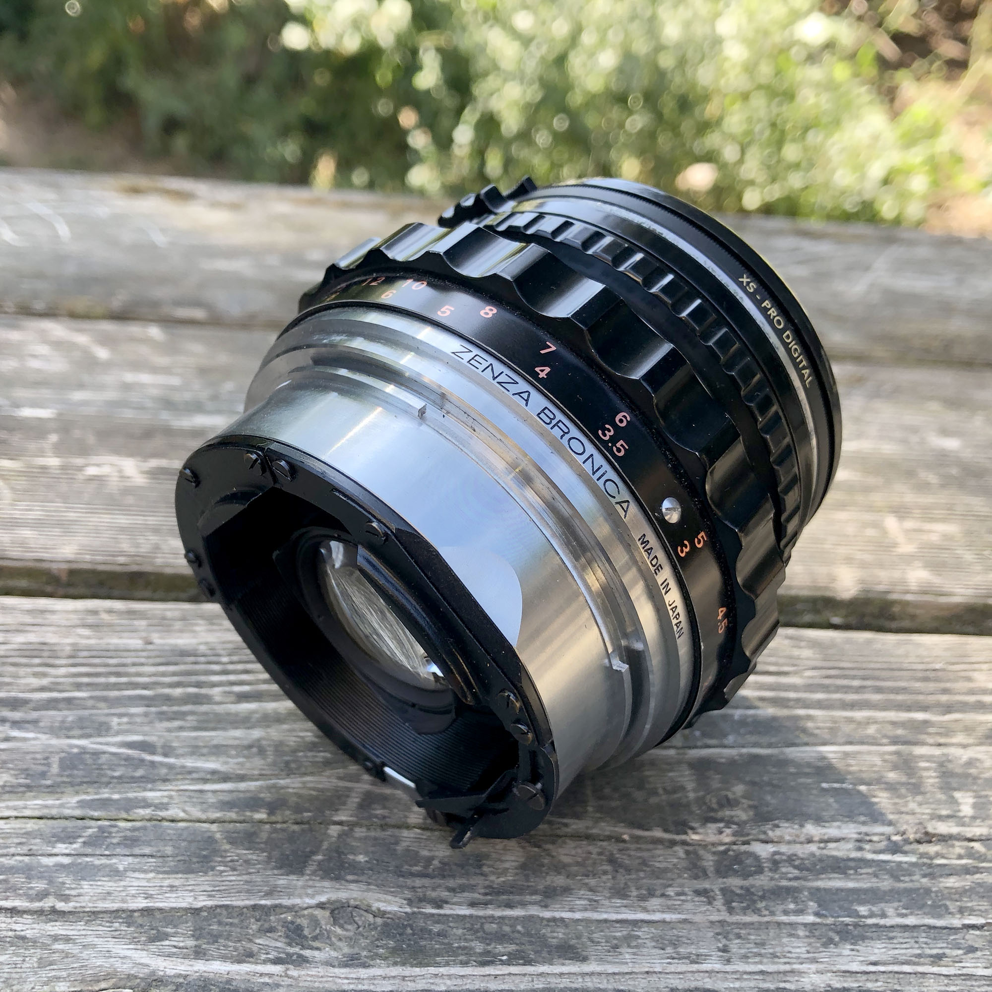 Nikkor 75mm lens for Bronica S2