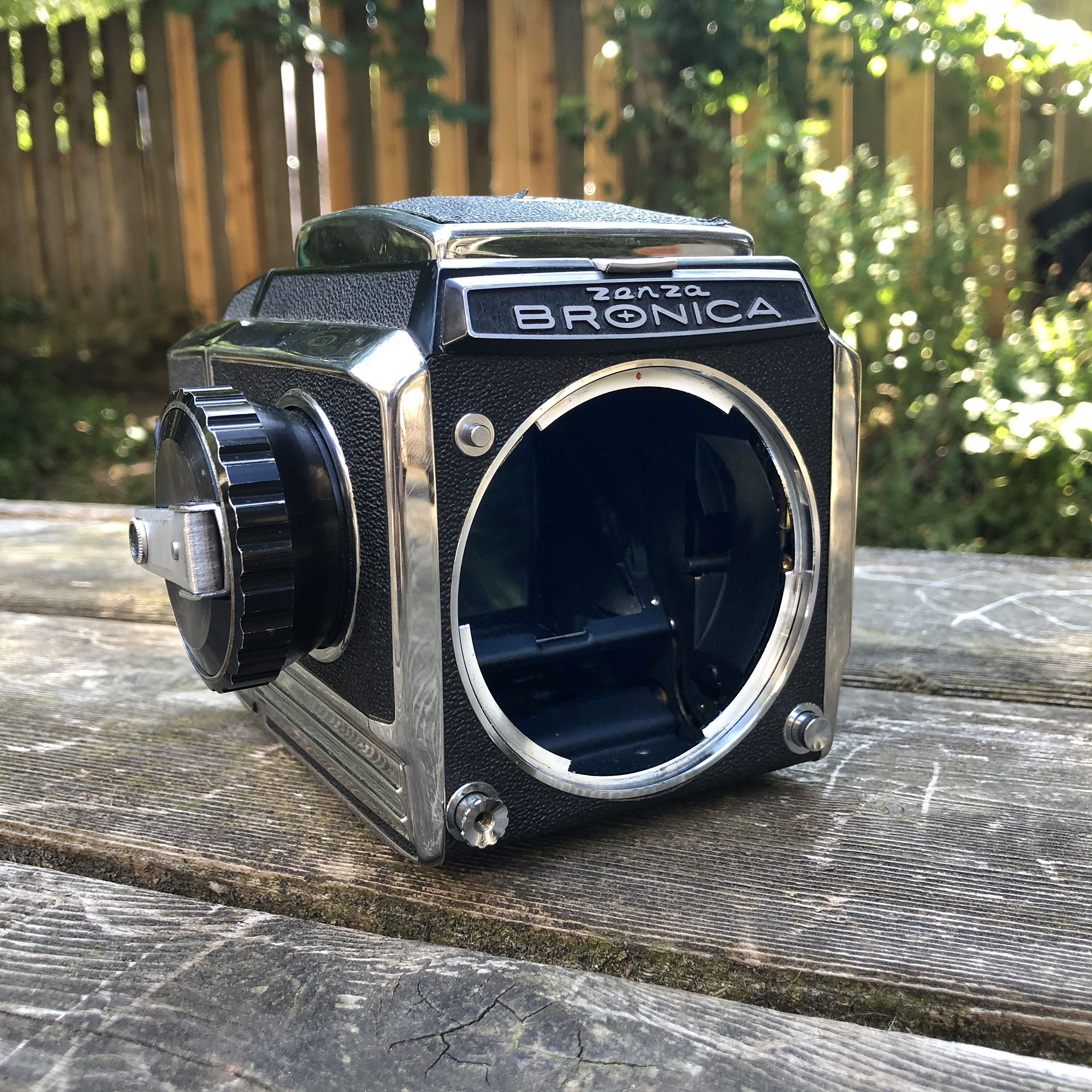 Bronica S2 body with no lens