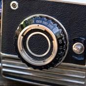 Bronica S2 shutter speed adjustment knob
