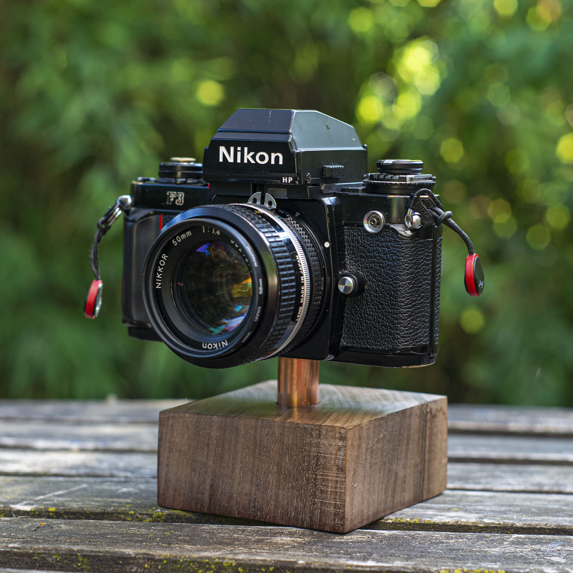 Nikon F3 with a 50mm f/1.4 lens
