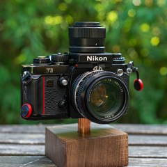 Nikon F3 with magnifier finder