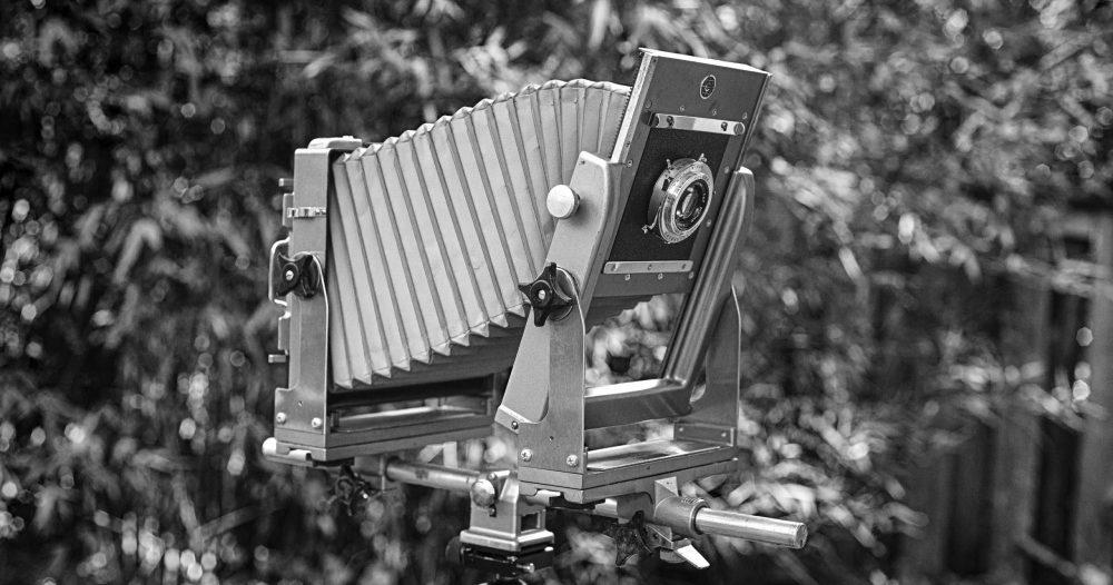 Calumet CC-400 studio camera
