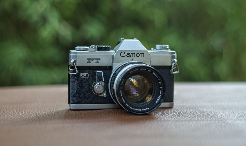 Canon FT 35mm film camera