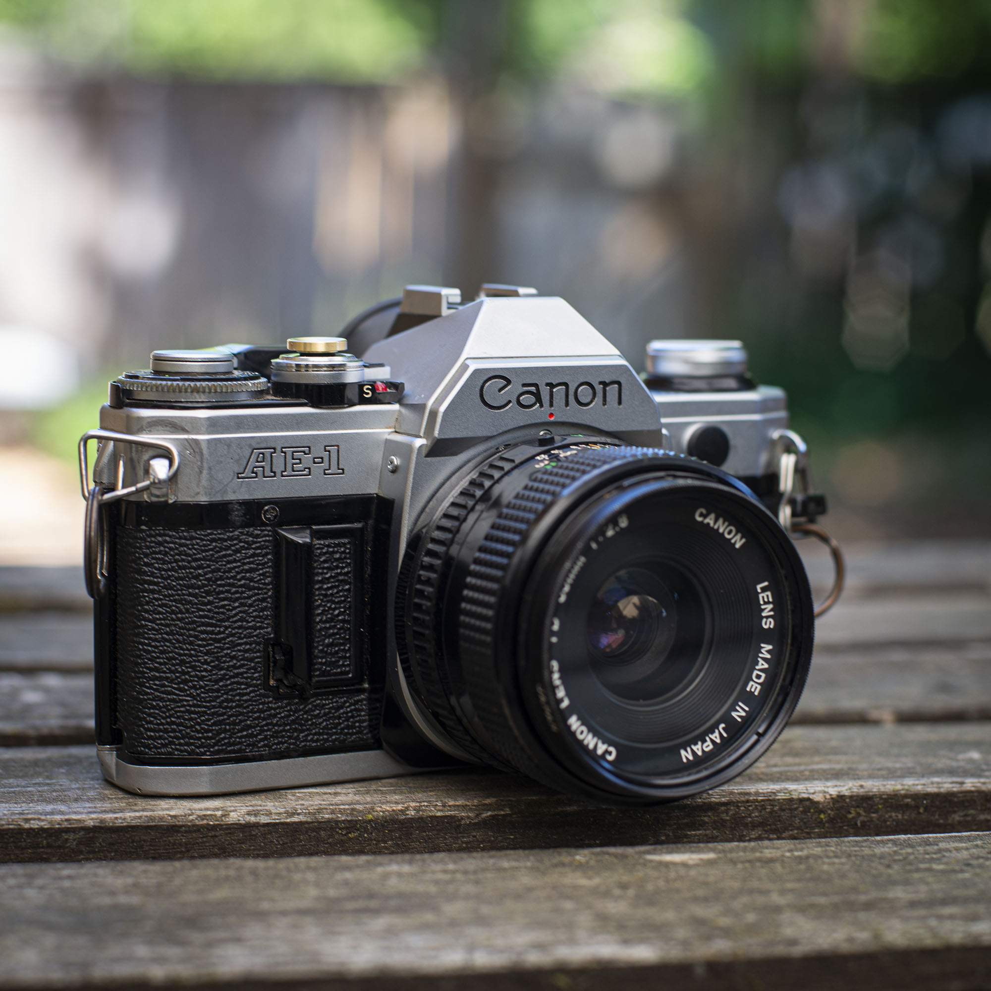 Canon AE-1 right side