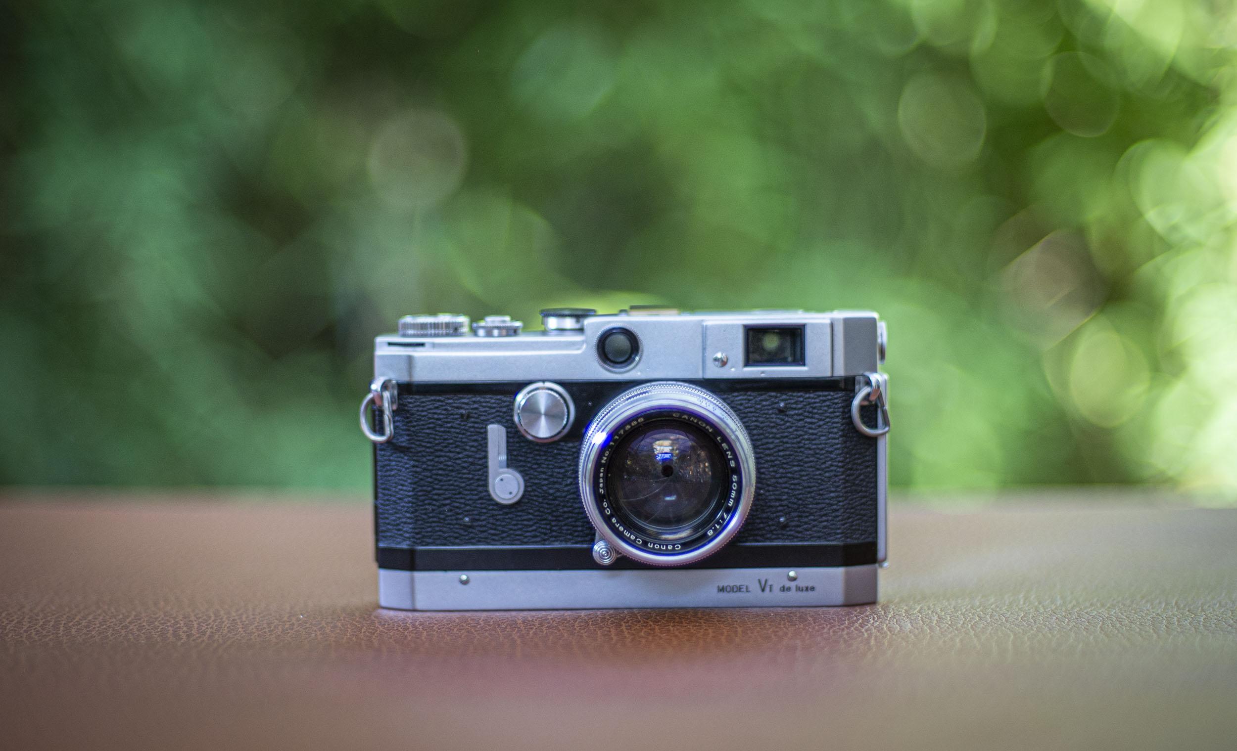 Canon VT de luxe rangefinder